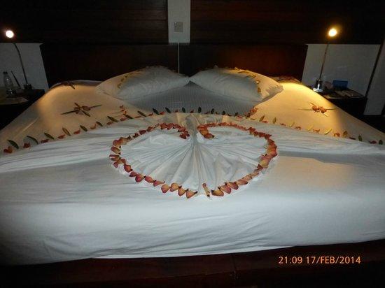 Cinnamon Hakuraa Huraa Maldives: 1st night on island