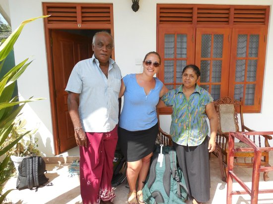 Tithira guest home: me and the owners