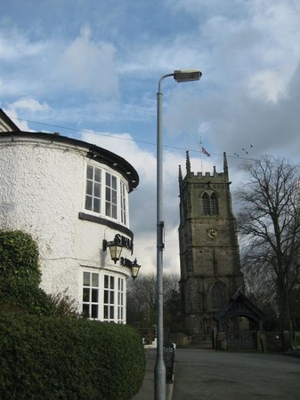 The Swan Inn: It really is that close
