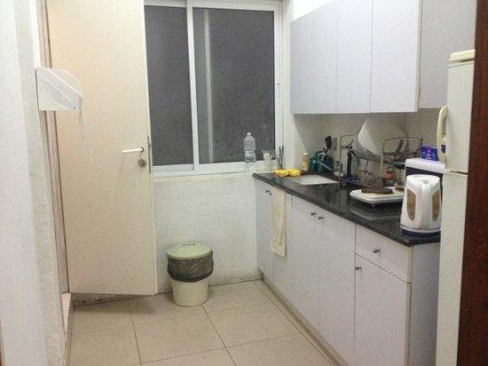 Mugraby Hostel: кухня