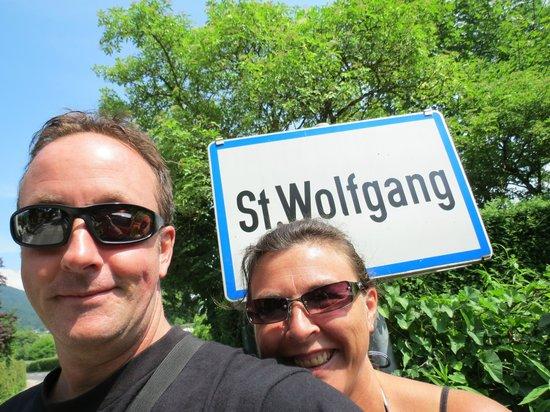 Platzhirsch Zur Alten Wagnerei : Notre arrivée