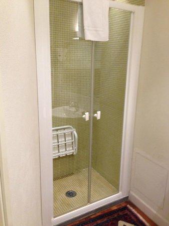 Albergo San Martino: doccia