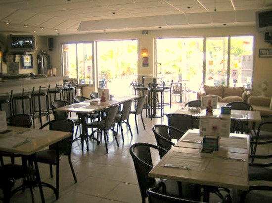 Chepas Bar Cafe: Dine in or on our terrace