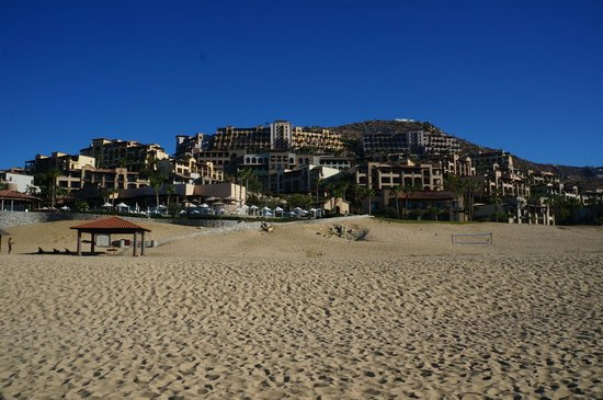 Pueblo Bonito Sunset Beach Golf & Spa Resort: resort from the beach