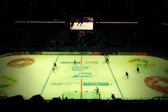 SAP Arena: Partida do Mannheim
