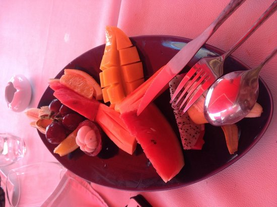 La Plage Rouge: Fruits :)