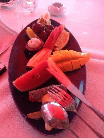 La Plage Rouge: Fruits :)