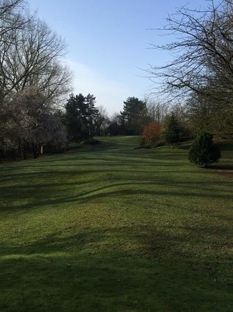 Crab Manor Hotel: the one hole golf course at Crab Manor