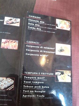 Nara Sushi Restaurant: Menù4