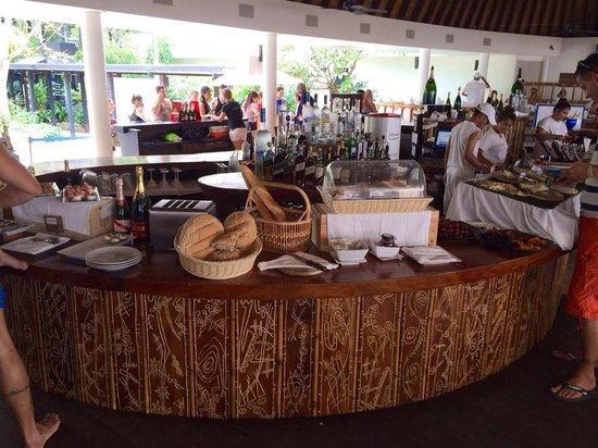 Nikki Beach Resort & Spa: Buffet brunch !
