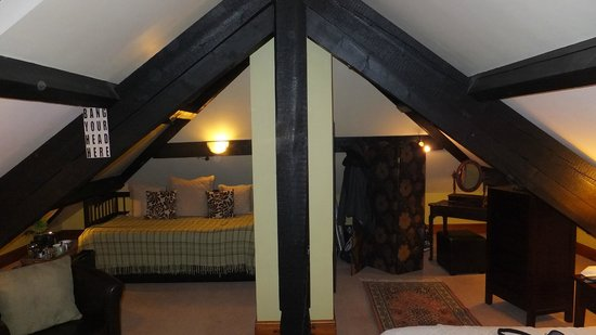 Ivythwaite Lodge hotel: Dressing/sitting areas