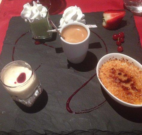 Le Delano : Cafe gourmand