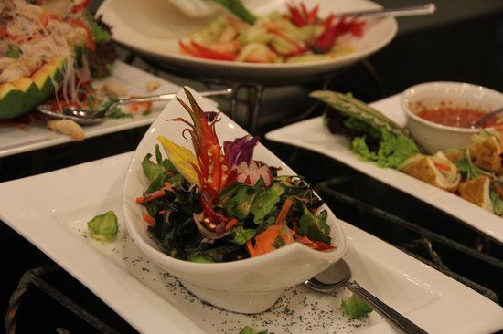Royale Chulan Kuala Lumpur: Auch das Auge isst mit!