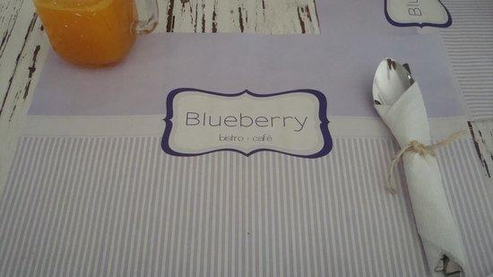 Blueberry Cafe: Detalles agradables.