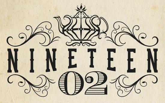 1902 Tea House: Nineteen-02 Logo