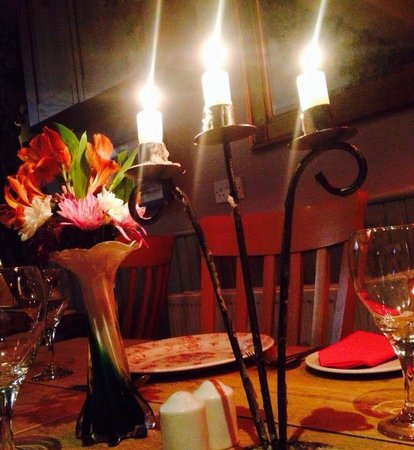 The Prince of Wales at Hoath: Candle lit dinner