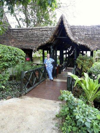 Lake Manyara Wildlife Lodge: ingresso del lodge