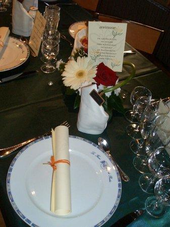 La Ferme de Presles : repas entre amis