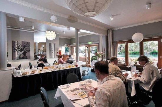 The Waterfront Wynyard: sensational continental buffet breakfast