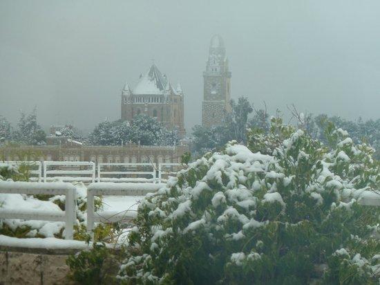 Inbal Jerusalem Hotel : Jerusalem snow