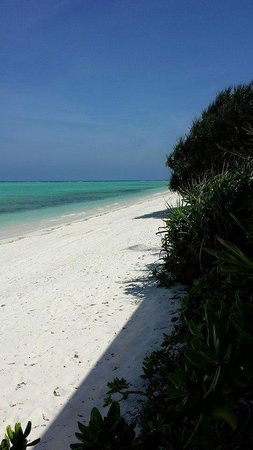 Amanpulo: crystal clear water