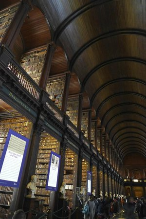 The Book of Kells and the Old Library Exhibition: That ceiling!