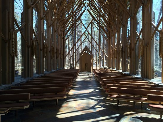 Garvan Woodland Gardens: Inside chapel