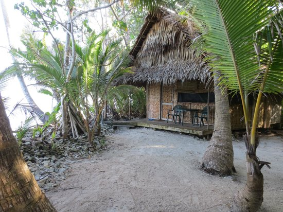 Kosrae Village Ecolodge & Dive Resort: Our Front Porch