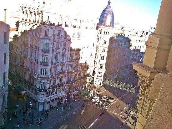 Hostal Go Inn Madrid : Vistas desde el balcón