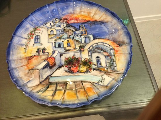 Astro Palace Hotel and Suites : Pottery purchased here