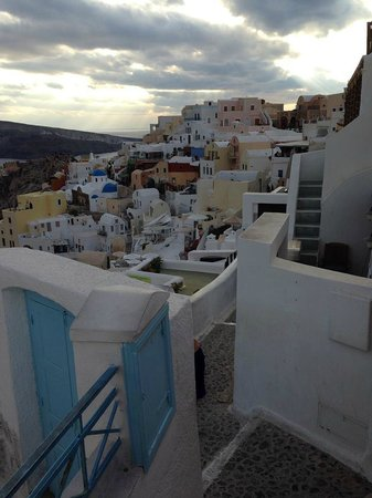 Astro Palace Hotel and Suites: Top of Fira