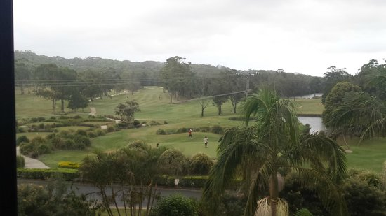 Byron Links Apartments: Golf Course