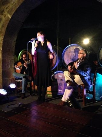Fado in Porto - Caves Calem : Fado