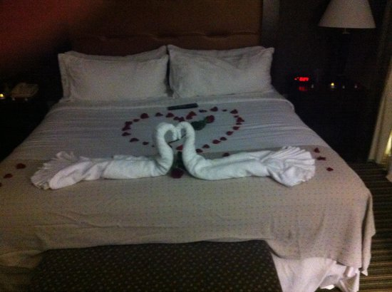 Holiday Inn Pearl - Jackson Area: Romance Package - roses, wine, chocolate, jacuzzi, electric candles, 