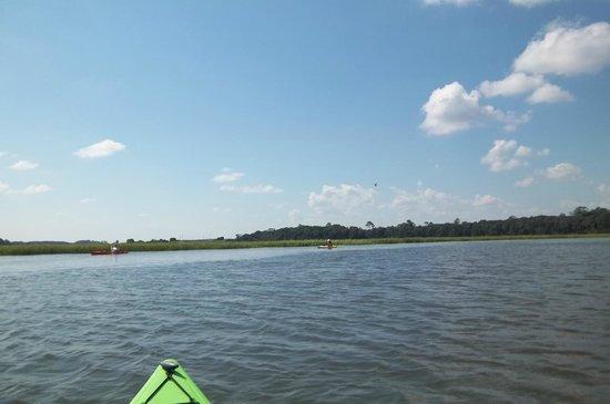 Kayak Amelia September 2013