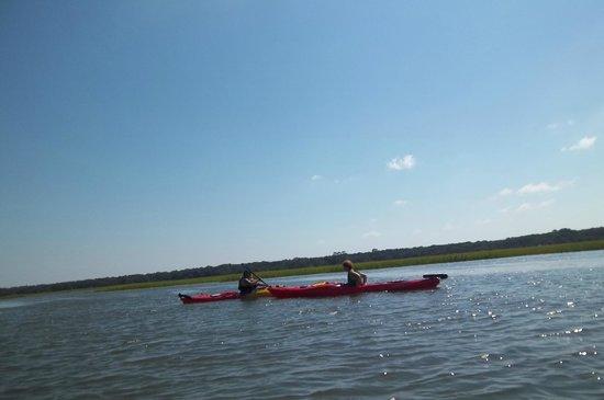 Kayak Amelia Sept 2013