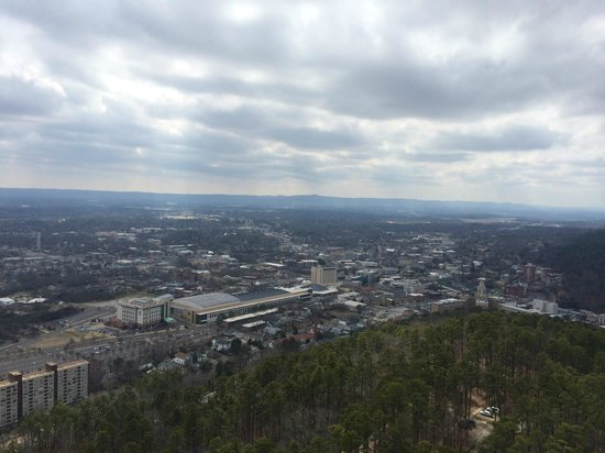 Hot Springs Mountain Tower: View from tower