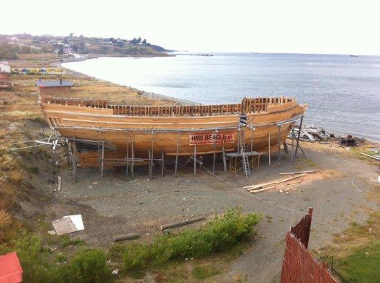 Nao Victoria Museo: El Beagle en construcción