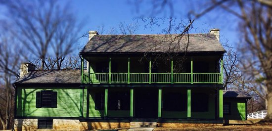 Ulysses S. Grant National Historical Site: Front view of Grant's Home
