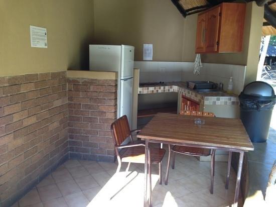 Letaba Rest Camp: cocina