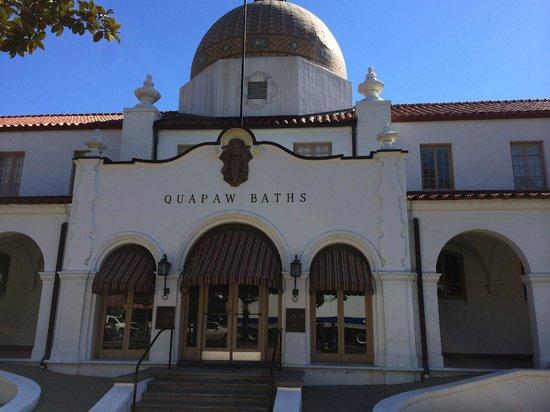 Quapaw Bathhouse: Street view