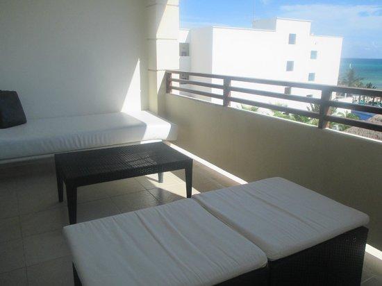 Secrets Silversands Riviera Cancun : balcon