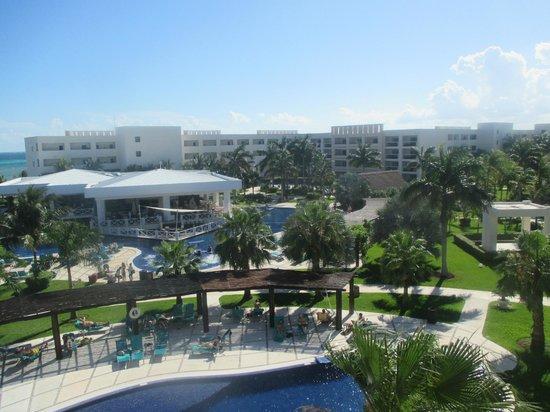 Secrets Silversands Riviera Cancun : vue de notre chambre