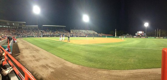 Space Coast Stadium : Night game from Section 117