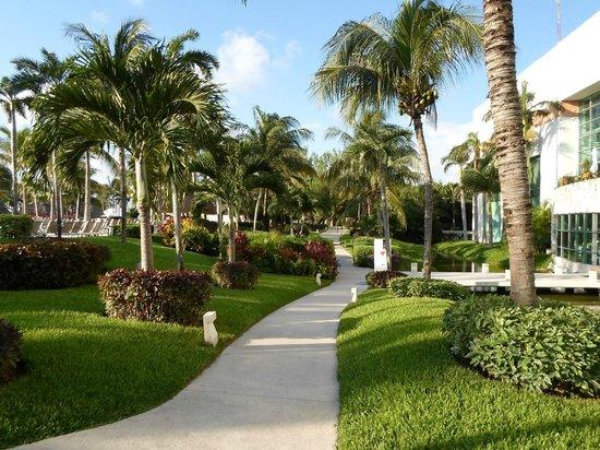 The Bliss Resort: Beautiful walk each day