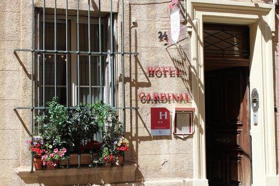 Hôtel Cardinal : Entrance