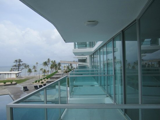Bala Beach Resort: view from Building 2, 2nd floor