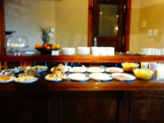 Patagonia Queen: café da manhã