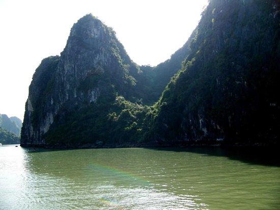 Lan Ha Bay: Now that's a view.