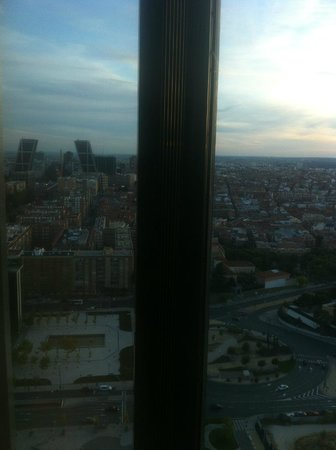 Eurostars Madrid Tower: Vistas